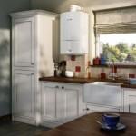Дизайнерские нюансы оформления газового котла на кухне