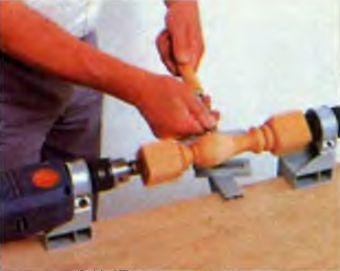 насадка для токарных работ на дрель