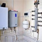 Установка газового котла своими руками - монтаж настенного и напольного котла
