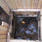 Как монтировать канализацию в плывуны?