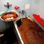 Как устранить засор и прочистить трубы канализации