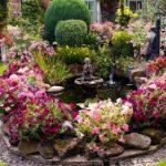 Устройство садового фонтана на дачном участке