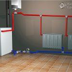 Система отопления с естественной циркуляцией - монтаж самотечной системы