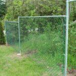 Строим сетчатый забор сами