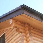 Отделка карнизного свеса крыши. Способы и материалы