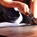 Заделка щелей и дыр в полу