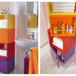 Делаем оригинальный поворотный шкафчик для ванной комнаты
