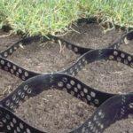 Георешетка или как укрепить грунт на склоне