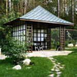 Садовые финские беседки или домики из Лапландии