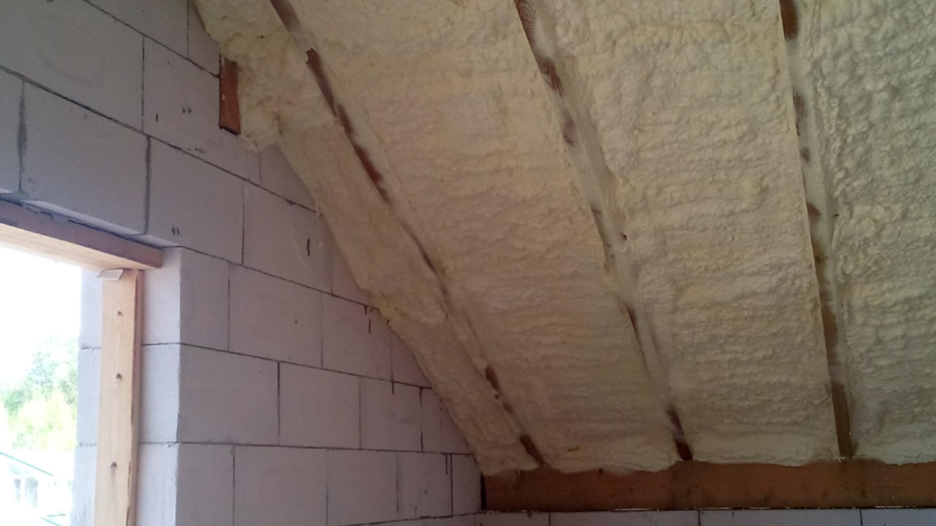 Пенополиуретан утепление потолка