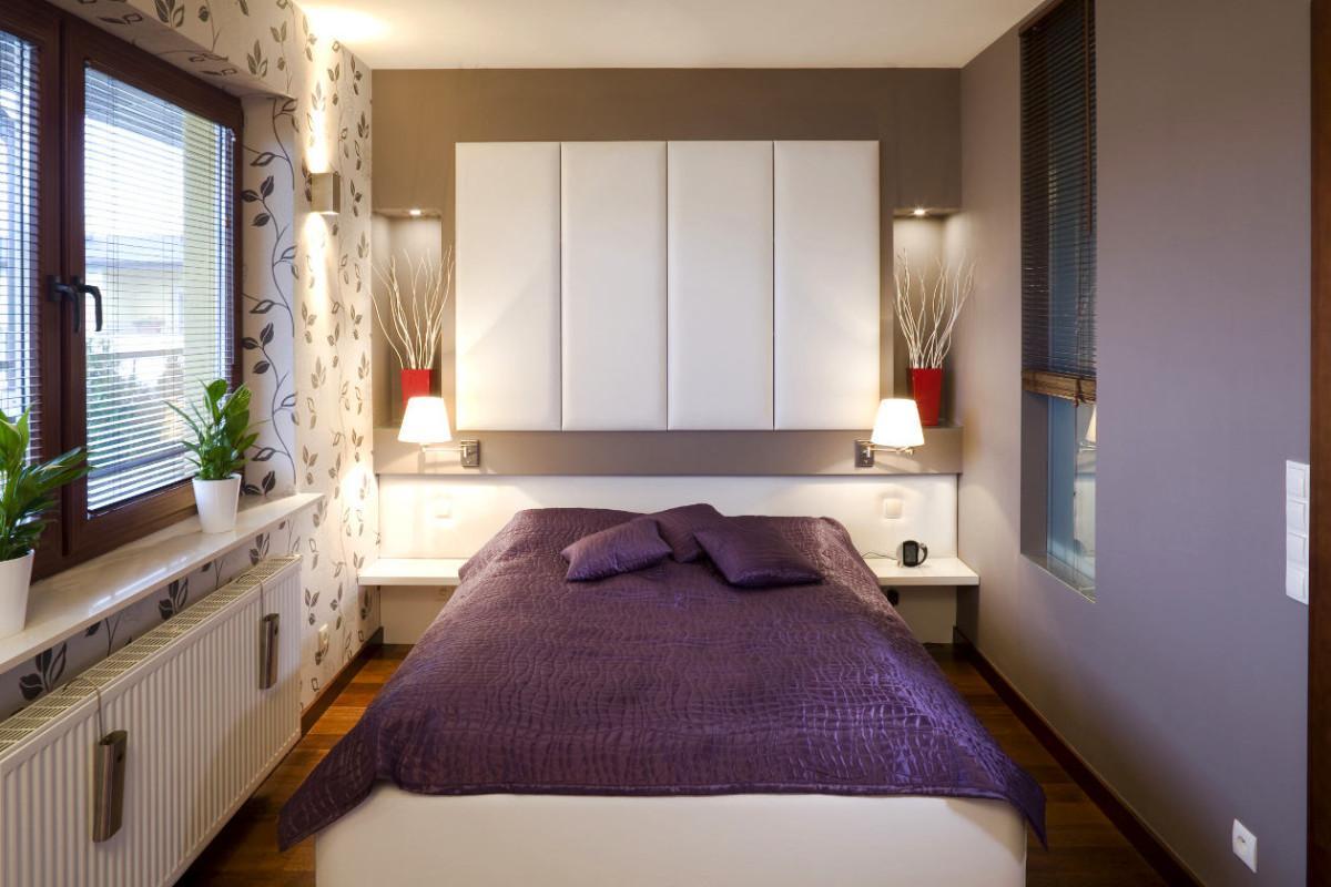 Маленькая спальня как обустроить