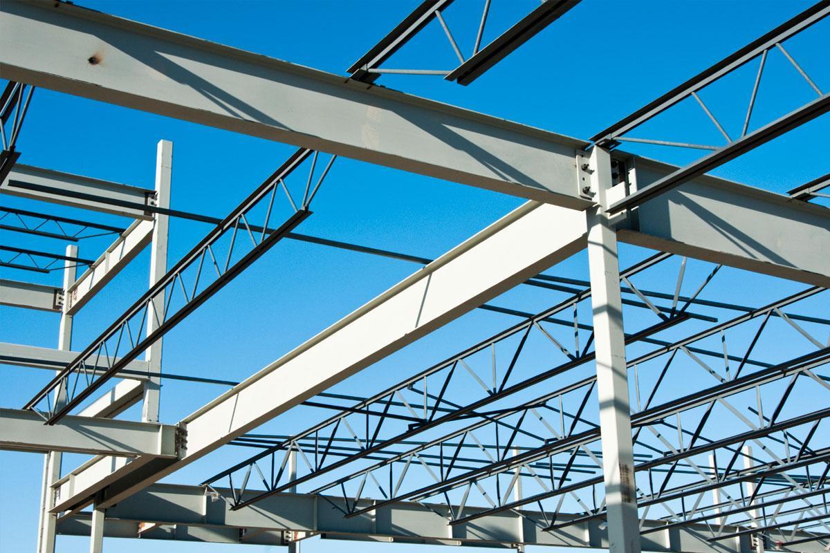 Возведение стальных конструкций