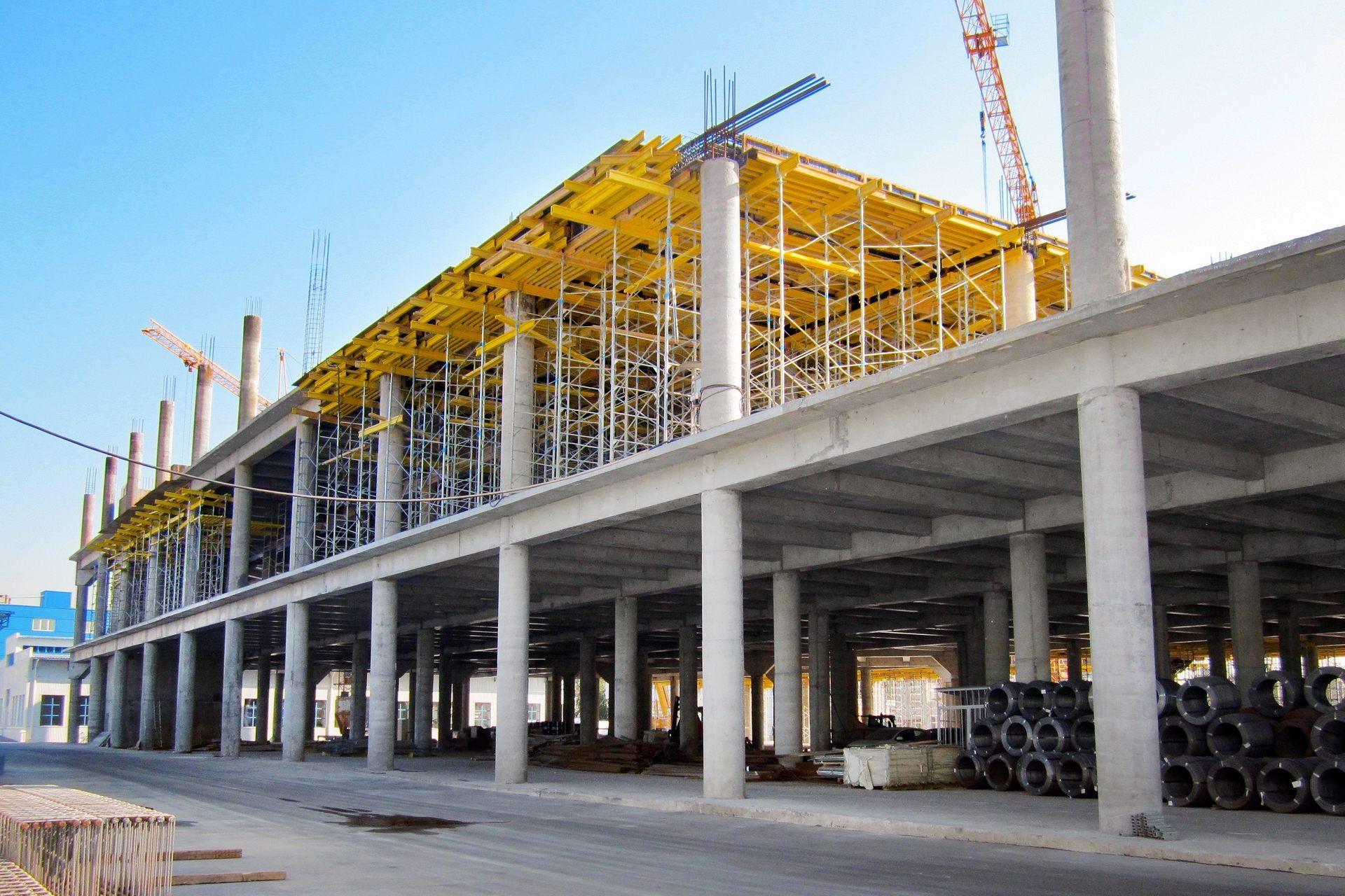 Конструкции для промышленных зданий
